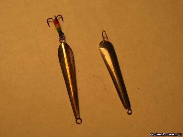 Блесна для зимней рыбалки своими руками на окуня